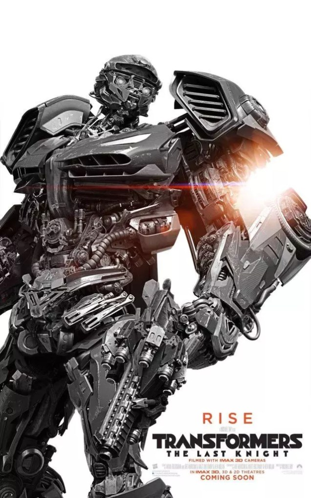 transformers 5 nuovo poster
