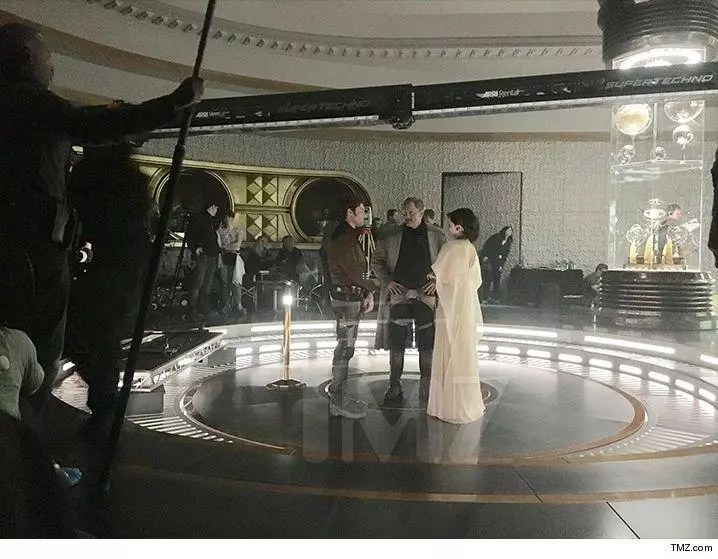 Foto e video dal set di Han Solo, lo spin-off Star Wars