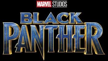 black panther logo film