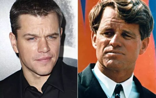 matt damon kennedy