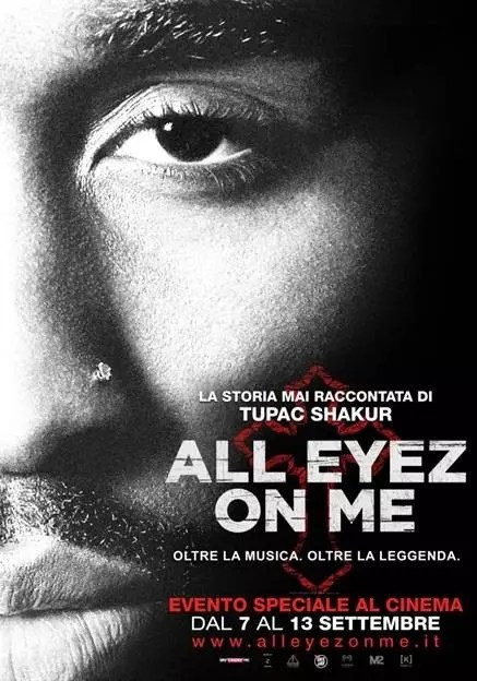 all eyez on me poster italiano