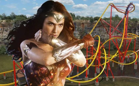 wonder woman roller coaster