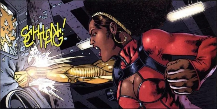 misty knight fumetto