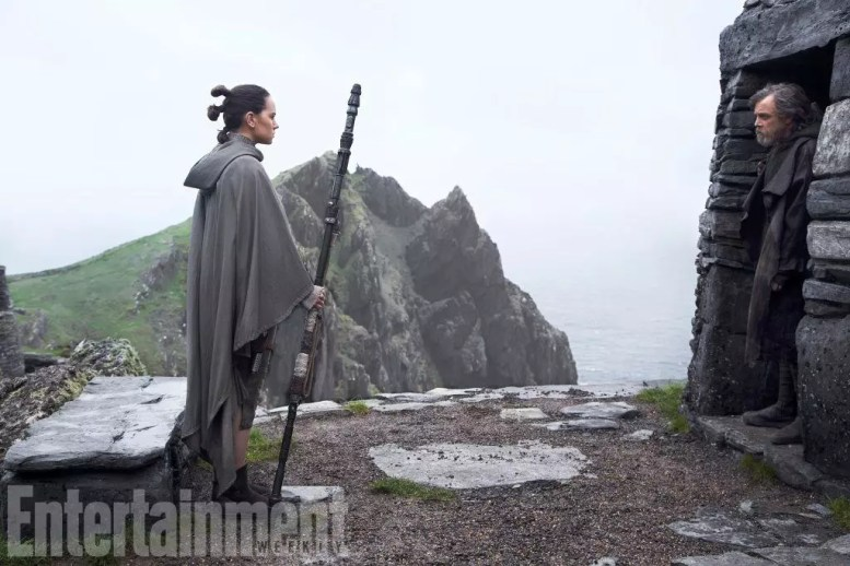 star wars ultimi jedi foto e cover ew