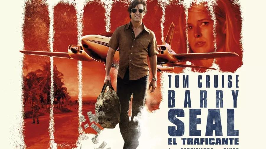 barry seal banner film