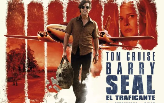barry seal banner film