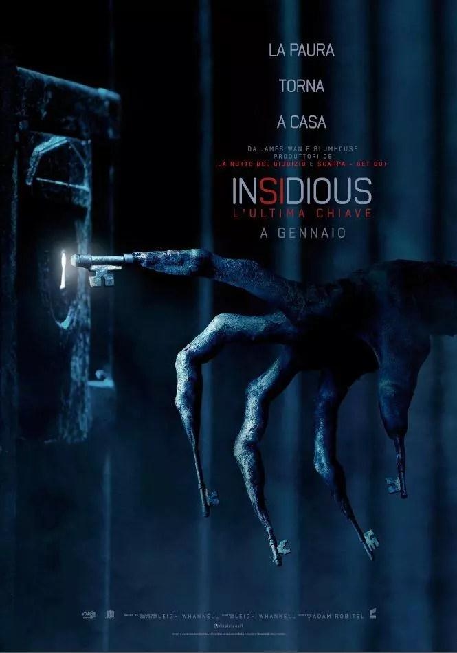 insidious 4 poster ita