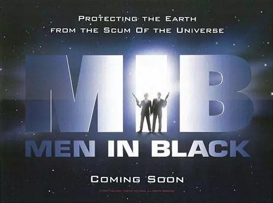 men in black banner