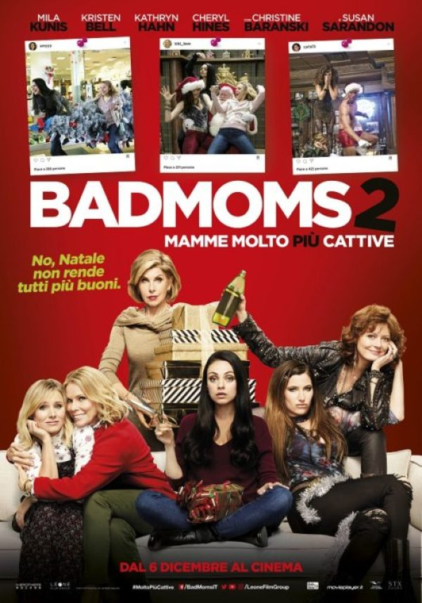 bad moms 2 poster italiano