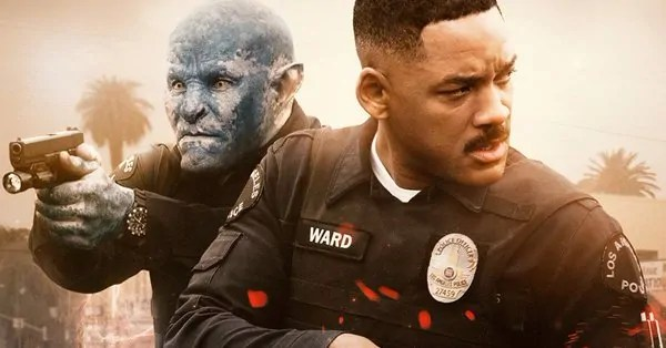 Will Smith e l'orco Joel Edgerton nel nuovo poster di Bright