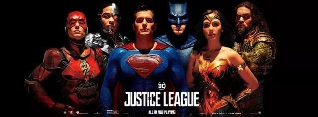Justice League - Banner e poster finalmente con Superman