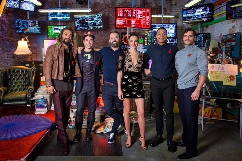 Foto e video dalla Justice League Experience di Londra