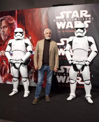 star wars evento napoli