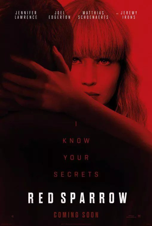 Red Sparrow (poster)