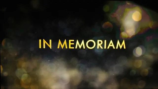 Oscar 2018 - L'intenso video dell'In Memoriam, ma l'Academy ne dimentica qualcuno