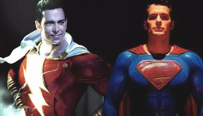 Zachary Levi prende in giro Henry Cavill sull'anniversario di Superman