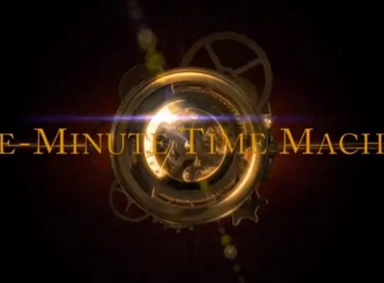 one minuti time machine
