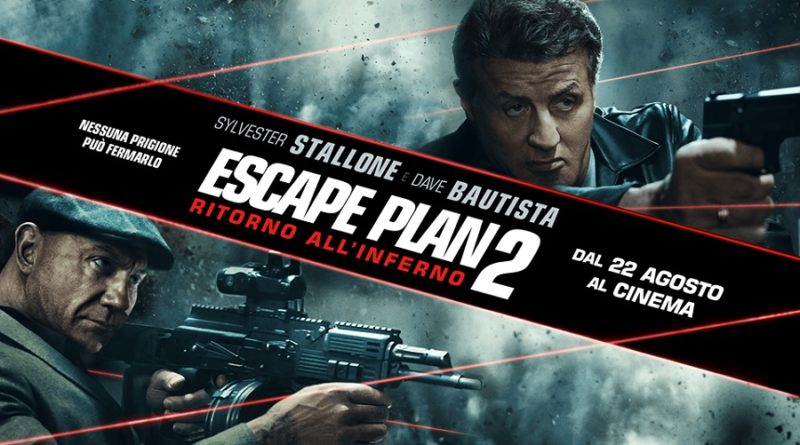 Escape Plan 2 - Ritorno all'Inferno, Sylvester Stallone nel trailer italiano!