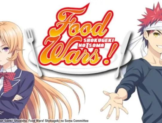 food wars recensione
