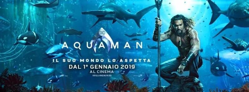 Due nuovi poster italiani per il cinecomic Aquaman