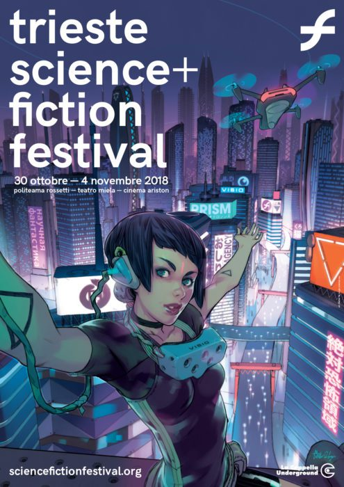 TRIESTE SCIENCE+FICTION FESTIVAL POSTER