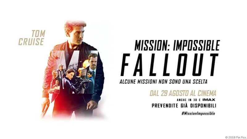 Risultati immagini per mission impossible fallout banner hd