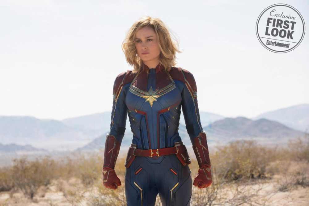 CAPTAIN MARVEL FOTO ENTERTAINMENT WEEKLY