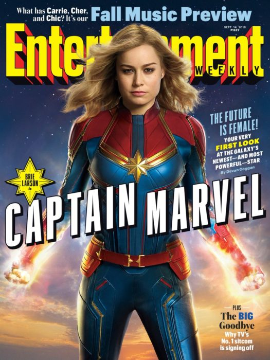 CAPTAIN MARVEL COVER ENTERTAINMENT WEEKLY