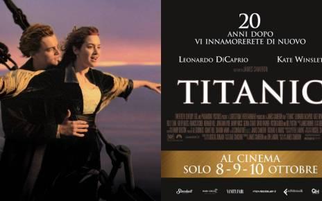 Titanic torna al cinema l'8, 9 e 10 ottobre per il 20° anniversario