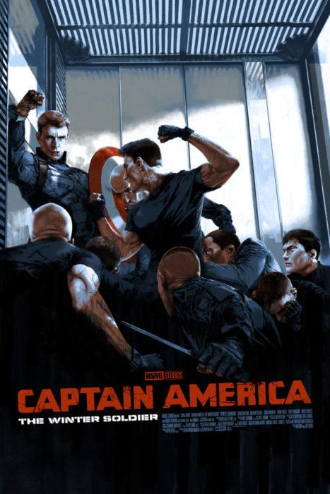 Tanti affascinanti poster Mondo dalla Mostra per i 10 anni di Marvel Studios