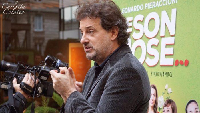 Le foto della presentazione stampa di Se Son Rose..., il nuovo film di Pieraccioni