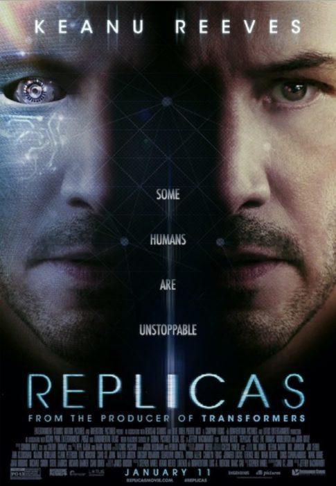 replicas film poster