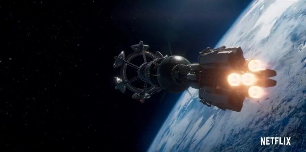 Valanga di video da Nightflyers, la serie tratta da un racconto di George R.R. Martin