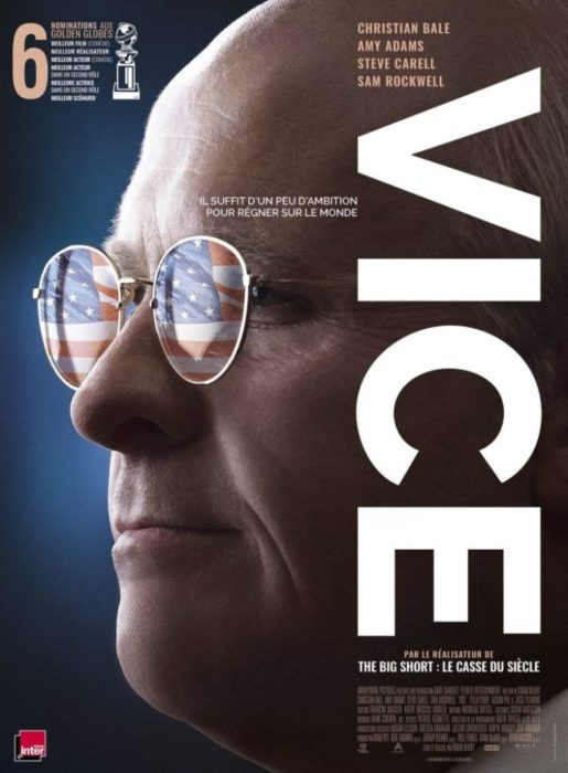 vice christian bale poster