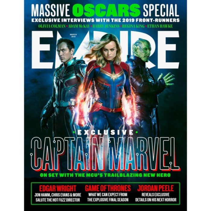 captain marvel cover empire