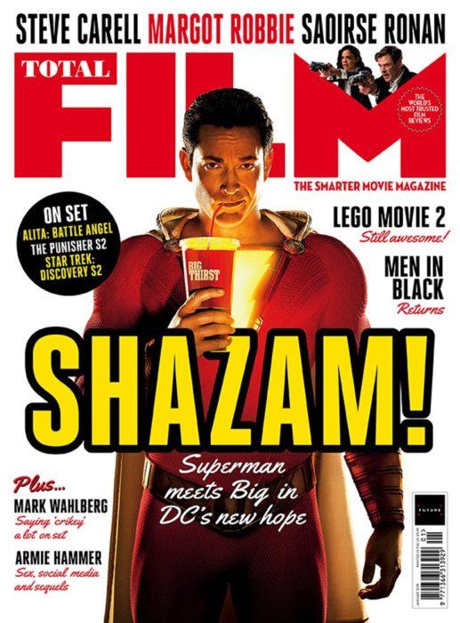 shazam cover total film