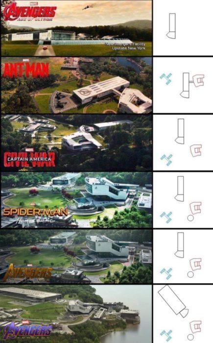 quartier generale avengers