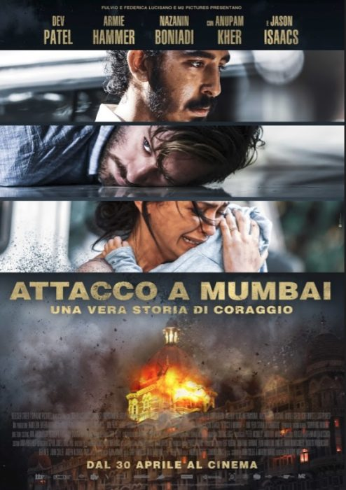 attacco a mumbai poster