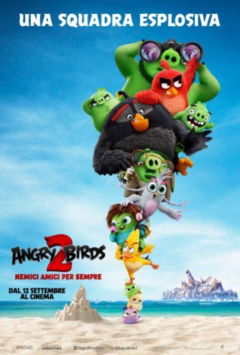 Sneak peek e poster di Angry Birds 2 - Nemici amici per sempre