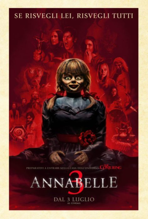 Annabelle 3 Poster