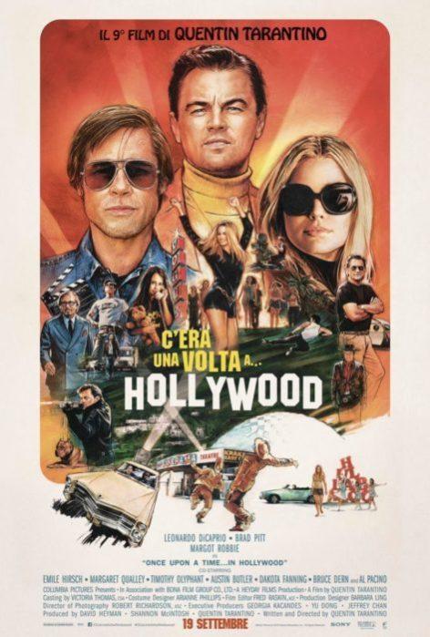 Un nuovo poster stile retrò per C'era una volta a... Hollywood