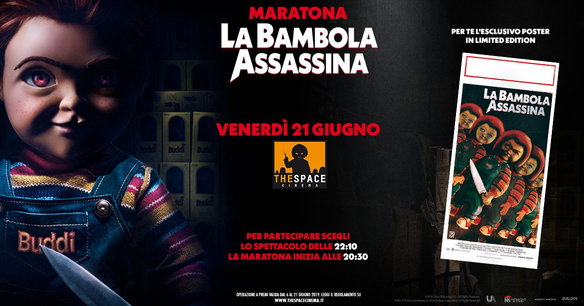 La Bambola Assassina The Space