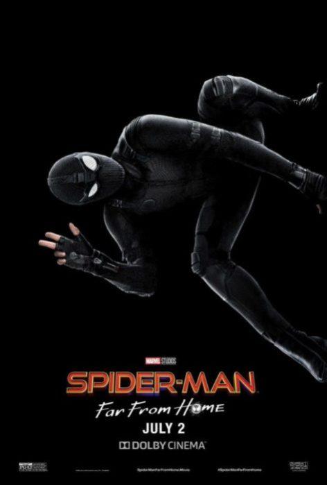 Il costume stealth nei nuovi poster di Spider-Man: Far From Home