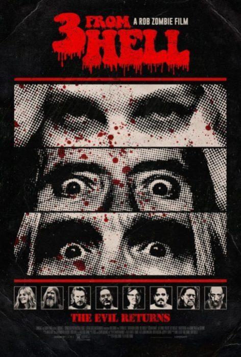 Un nuovo poster per 3 From Hell, l'horror di Rob Zombie