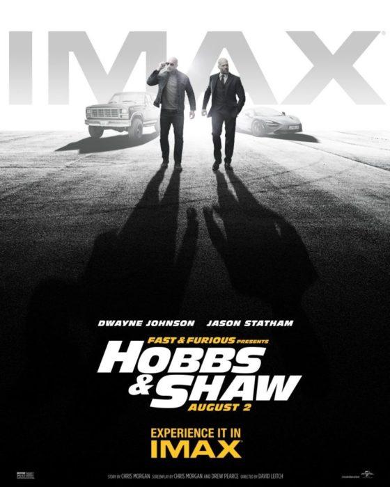 hobbs & shaw poster imax