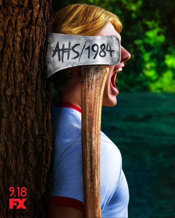 American Horror Story 1984 poster