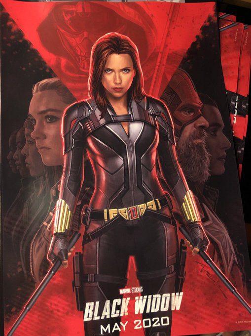 Black Widow film Poster