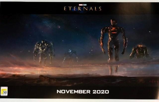 Il primo concept art di Gli Eterni in versione ufficiale