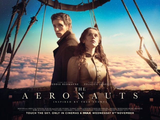 The Aeronauts film poster