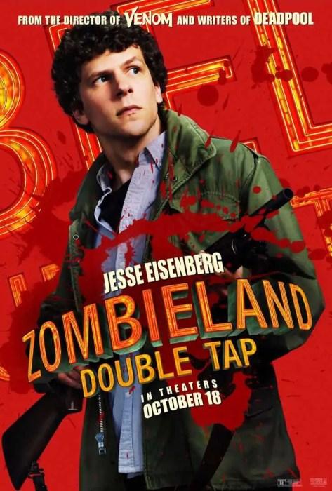 Tanti characters poster da Zombieland - Doppio Colpo